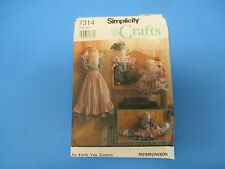 Vintage Sewing Pattern Simplicity 7314 One Size 24 Lamb Doll Draft Stopper  S681
