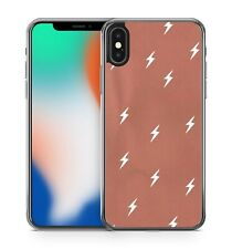 Wonderful White Lovely Luscious Striking Lightning Pattern Fine Phone Case Cover