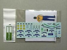 1/20 Lotus Honda 99T Camel A. Senna & Pit crew '86 Decal for Tamiya