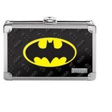 New Vaultz Locking Supply Box w/ 2 Keys Embossed 3D Batman Logo Dc Comics