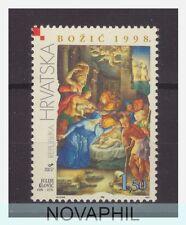 1998 CROAZIA -  NATALE EMISSIONE CONGIUNTA CON VATICANO
