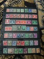 Norway Stamp Collection - Mostly Used & Classics - 2 Scans - W89