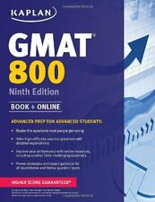 Kaplan GMAT 800 : Advanced Prep for Advanced Students-Kaplan Publishing