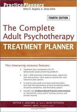 The Complete Adult Psychotherapy Treatment Planner 4th Edition