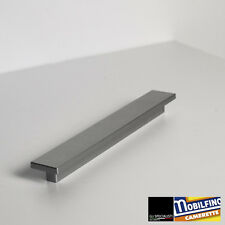 MANIGLIA LINEARE MOBILE ARMADIO BAGNO B&B GRIGIO GREY HANDLE INTERASSE ↔ 192mm