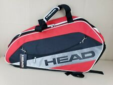 Head Racquetball Club Ultra Combi Duffel Backpack Bag Red Black Silver *See Note