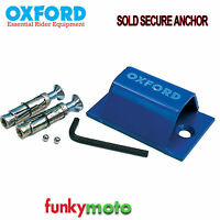 OXFORD SOLD SECURE GROUND ANCHOR MOTORCYCLE MOTORBIKE SCOOTER SECURITY STRONG