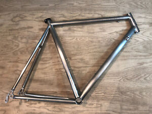 Mongoose Pro RX 10.9 Sandvik USA Built Titanium Road Bike Frame 56cm