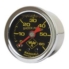 Marshall Öldruckmanometer, Öldruckanzeige midnight 60PSI - Harley Davidson