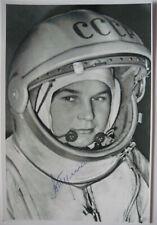 Walentina Tereschkowa signiert V. Tereshkova Wostok Unterschrift Autogramm