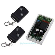 AC 220V 315Mhz 1CH Wireless Smart Remote Control ON/OFF Switch w/ 2 Transmitter