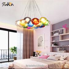 Modern Colours Bubble Glass Chandelier LED Ceiling Lamp Pendant lighting Fixture