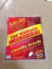 Heat Factory Adhesive Toe Warmer 40 Pair Foot Warmer 1945-40
