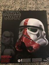 Star Wars Black Series Incinerator Trooper Helmet Box Opened Helmet Not
