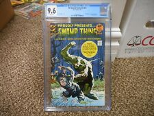DC Special Series 2 1 cgc 9.6 Swamp Thing WHITE pgs NM MINT original Wrightson