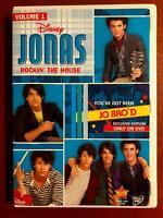 Jonas Rockin The House - Vol. 1 (DVD, Disney) - G0906
