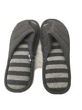Cozy Men's Home Slipper, Gray, Size 9-10