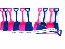 36 Toy Shovels Mix Blue Pink Colors 36 I Dig You Stickers Mfg Usa Lead Free*