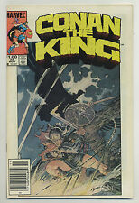 Conan the King #25 1984 Newsstand Marc Silvestri Geof Isherwood MW Kaluta v