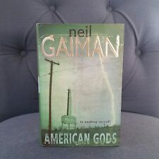 "**1st Edition, 1st Print"" American Gods by Neil Gaiman. UK (British) Edition!!"