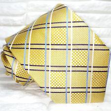 Gold krawatte Neu 100% Seide Top Qualität, handgefertigt TRE marke , tarten