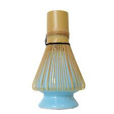 Ceramic Matcha Whisk Holder - Blue