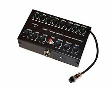 8 Band Sound Equalizer NOISE GATE Echo Compressor to YAESU Radio 8 pin mic FT-