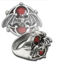 Alchemy Gothic CARFAX Gothic Ring Size Q (18)
