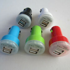 5 PCS Dual USB 2-Port Car Charger Adaptor for iPhone 5 5S 5C 4S 4 4G iPod Touch