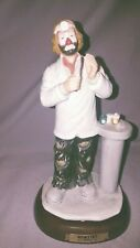Dentist Clown Emmett Kelly Jr Collection With Base Exclusively From Flambro 8In