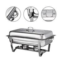 Chafing Dish party tray warmers set Clamshell buffet stove dishes  Food Warmer