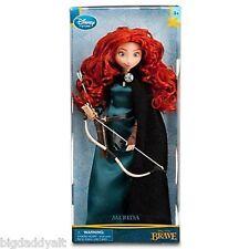 """New Disney Brave Merida Classic 11"""" Barbie Doll with Bow Arrow Archery Set"""