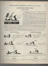 1922 ad advertising BAILEY PLANES Smooth & Corrugated Bottoms Jack & Fore plane