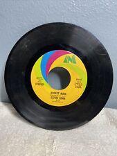 "Elton John Rocket Man/Suzie 45 7"" Pop Rock Uni Records Record Vinyl As Is"