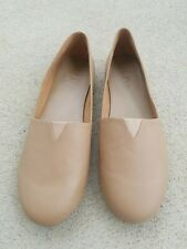 TKEES Senny NEW Ballet flat slip on leather Size 9 Brown