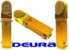 Deura Golden Large Diaphragm Phantom Power Studio Condenser Microphone Cd-100