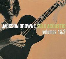 Solo Acoustic, Vol. 1 & 2 [Digipak] by Jackson Browne (CD, Nov-2008, 2 Discs, Inside Recordings)