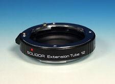 Soligor extension tube 12 zwischenring Bague allonge pour Minolta AF - (90438)