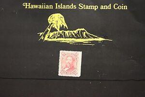 116 HAWAII #38 UNUSED ISSUED 1882 KING KALAKAUA