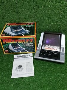 GRANDSTAND FIREFOX F-7 Video Game 1980 Made In Japan - BOX & GAME In MINT COND