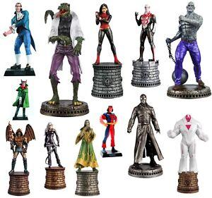 Assorted Eaglemoss Chess Superhero Collection Marvel Comics Figurine + Magazine