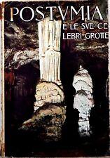 POSTUMIA e le sue celebri grotte - 1927