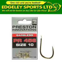 Preston Innovations PR 400 Series Spade End Hooks (Various Types & Sizes)