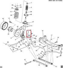 WASHER Rear Axle Control Arm GENUINE GM 22650696 99-05 Grand AM, 99-04 Alero