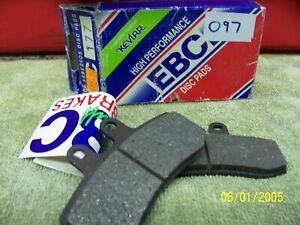 EBC brake pads FA177