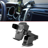 1pc Black 360° Mount Holder Car Windshield Stand For Cell Phone GPS Accessories