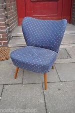 50er 60er Mid Century Sessel, Lounge Sessel, Federkern 50s 60s neu gepolstert !