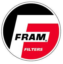 2x FRAM STICKER  hotrod split bug