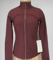 NEW LULULEMON Define Jacket SE Pleat 6 Redwood NWT FREE SHIP