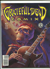 GRATEFUL DEAD COMIX #1 (9.2 OR BETTER UNREAD!) JERRY GARCIA KITCHEN SINK